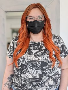 Bellami hair extensions orange hair redhead ginger Brand Board, Hair Extensions, Orange, Face, How To Make, Weave Hair Extensions, Extensions Hair, The Face, Extensions