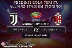 Kali ini, PROMOJUDI.ONLINE akan memberikan Prediksi Bola Juventus vs AC Milan dalam lanjutan Liga Italia pekan ke-30 akan berlangsung di Allianz Stadium (Torino) pada tanggal 1 April 2018, Minggu pukul 01.45 WIB.