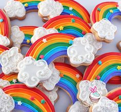 Rainbow Cookies - SmartieBox Cake Studio