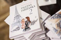Falešná Pařížanka 2, Kamila Boudová, 233 Kč, Luxor Luxor, Polaroid Film, Cover, Books, Libros, Book, Book Illustrations, Libri