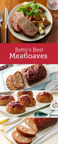 From cheese-stuffed to ketchup-glazed, these 12 meatloaf recipes are the definition of classic comfort food.
