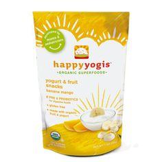 Happy Melts son snacks orgánicos hechos de yogur liofilizado para bebés.  ¡Un snack complatemente saludable! Pre y probióticos, miles de millones de cultivos vivos y activos, de alto valor proteico y bajo contenido de azúcar. Complementado con calcio y vitamina D.  Son 3 deliciosos sabores que le ofrecen a mamá una nueva e innovadora opción de snacks.  Sabor: Banano Mango Price $18.300