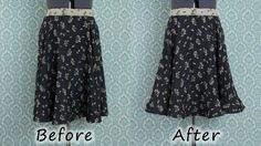 Adding Horsehair Braid to a hem for a full looking skirt- Video Tutorial