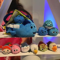 Upcoming Finding Dory carrying case set with Baby Dory, Destiny, and Dory's parents PLUS a Finding Nemo set!
