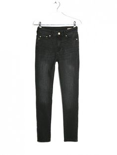 The Right Way to Wear Jeans to Work via @WhoWhatWear // Mango High Waist Broadway Jeans