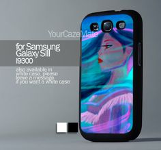 Pocahontas Painting For Samsung Galaxy S3 Hard Plastik Black Case | YourCazeMate - Accessories on ArtFire