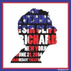 """""""An Evening with Sir Cliff Richard"""" by DougPop, to commemorate one of Cliff's rare public performances in the United States. June 21, 2014, Gramercy Theatre, New York, New York. -- Visit dougpop.com!"""
