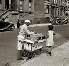 NYC. Hot summer, 1938 // k  by Jack Allison