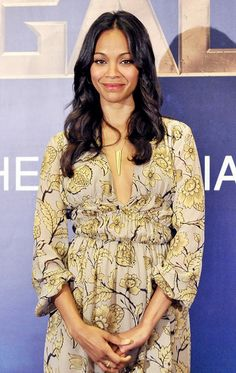 9 Things Zoe Saldana Can't Live Without This Month via @WhoWhatWear