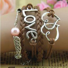 cute charm bracelets women charm jewelry men charms by lovesanrens, $8.90