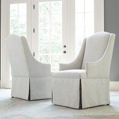 Features:  -Renaissance collection.  -Set includes 2 parsons chair.  Frame…