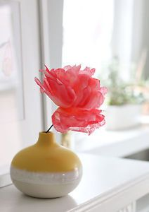 I'm going to show you how to easily create a flower from coffee filters.What I love about these blooms is that they are multipurpose. You can use them as the finishing touch on your gift wrapping. You...