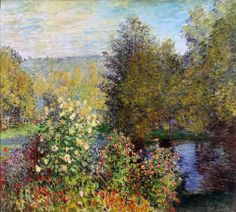 Claude Monet, Corner of the Garden at Montgeron (1876)