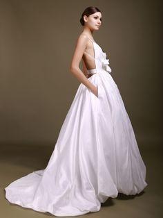 Awesome Backless Wedding Dresses