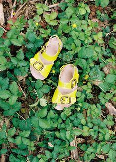 PéPé Childrenshoes, summer 2012.   Happy shiny summer