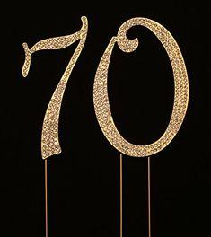 70 Fabulous Cake Topper 70th Birthday Cake Topper Cake Decoration