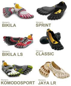 I absolutely love these shoes.  Vibram Five Fingers <3
