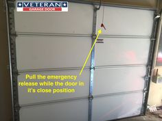 Garage door openers, contrary to many people's beliefs, do not provide the lifting power to open the garage door. The spring(s) do the heavy lifting, the opener