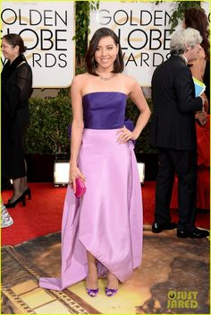 Aubrey Plaza-Golden Globes