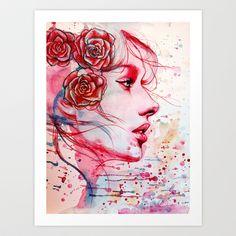 Lost & Found Art Print by Olga Noes - $18.00