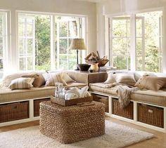 Cozy Corner decor interior design modern living room design ideas living room trends beige living room love white Back home design Interior Exterior, Home Interior, Interior Design, Kitchen Interior, Interior Modern, Interior Walls, Bathroom Interior, Platform Daybed, Sweet Home