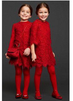 Dolce & Gabbana Kids FW13/14 V Fashion Kids, Little Girl Fashion, Little Girl Dresses, Girls Dresses, Dolce And Gabbana Kids, Moda Chic, Little Fashionista, Baby Kind, Stylish Kids