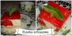 Pani Domowa: Ciasto z arbuzem. przepis na przepyszny sernik arb...