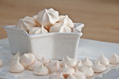 Sugar-free Meringue Cookies | Carrie Brown