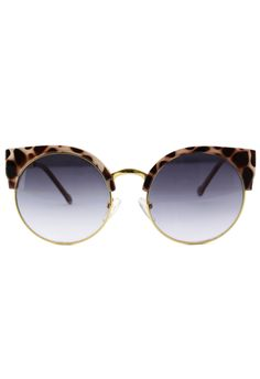 #Chicwish Light Amber Kitten Cat Eye Sunglasses - New Arrivals - Retro, Indie and Unique Fashion