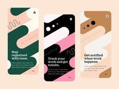 Onboarding by Vladimir Gruev for Heartbeat Agency on Dribbble Web Design, Global Design, Graphic Design, Design Layouts, Media Design, Print Design, Identity Design, Visual Identity, Identity Branding