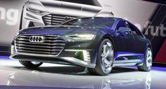 Audi A8 luxury saloon。ドイツの自動車メーカーであるAudi AGが発表した高級乗用車のソリューションの一つ。また同社は2017年には同ブランドの市販車に自動運転技術を取り入れると発表する。法関係の問題も調整する。