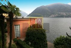 Property at Lake Como brings beautiful waterfront home for sale in Brienno, Italy. Buy this Lake Como villa if looking for 5 bedrooms, greenhouse, and garden Waterfront Homes For Sale, Most Romantic Places, Property Search, Lake Como, Lake View, Luxury Villa, The Locals, Villas, Living Area