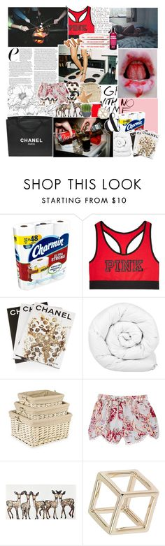 """IMPORTANT READ DESCRIPTION"" by oreokk22 ❤ liked on Polyvore featuring Chandelier, Charmin, Victoria's Secret, Assouline Publishing, Brinkhaus, Zara, Skylar Luna, WALL, Chanel and Topshop"