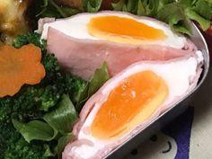 電子レンジで半熟タマゴのハムエッグの画像 Egg Dish, Microwave Recipes, Japanese Food, Tofu, Dinner Recipes, Brunch, Food And Drink, Low Carb, Eggs