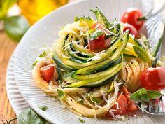 Kochbuch-Cover für Zucchini-Nudel Rezepte