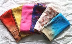 Ladies Dupatta Chiffon Printed in Wholesale (6 pc Pack) – Clothing Deck