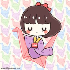 According to a Japanese legend, if you make a Thousand Origami Cranes (千羽鶴 Senbazuru), the crane (a Japanese mystical creature) will grant you a wish. ~(˘▾˘~)  If you completed Senbazuru, what would you wish for? ˙▿˙  ♥ www.japanlover.me ♥