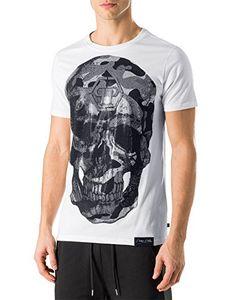 8e229e9748059 PHILIPP PLEIN - Men s T-shirt GOLD - white