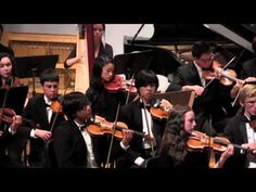 """Marrowstone Music Fesival 2012 Concert Orchestra  (1/2)....Aaaron Copland """"The Tender Land"""""""