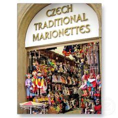 Tienda de marionetas checas
