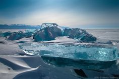 Turquoise Ice, Northern Lake Baikal, Russia - Google Search