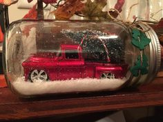 Nostalgic Chevy red truck Christmas tree. by Paddycakez on Etsy