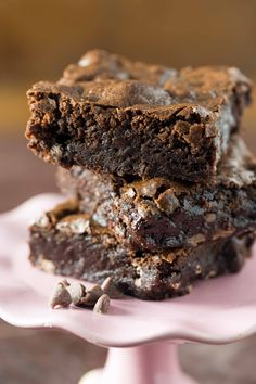 Fudgy Mocha Brownies are a rich, flavorful and indulgent dessert that you'll be dreaming about for a while!
