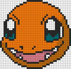 Pokemon Battle Trozei Charmander bead pattern