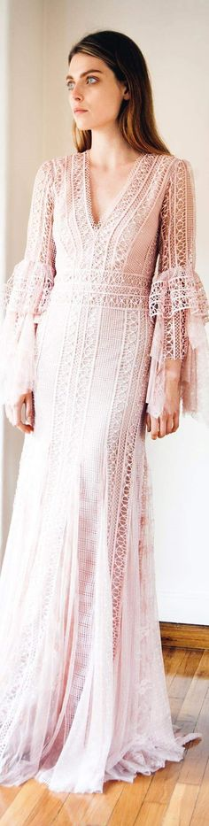 Get inspired and discover Costarellos trunkshow! Shop the latest Costarellos collection at Moda Operandi. Fabulous Dresses, Beautiful Dresses, Love Fashion, Womens Fashion, V Neck Dress, Bridal Collection, Couture Fashion, Christos Costarellos, Ready To Wear