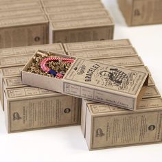 From IAMTHELAB.com Get Inspired: Packaging for Monsieur Bojangles Handmade Jewelry