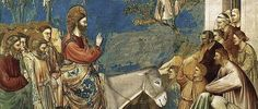 Gesù entra a Gerusalemme (Giotto)