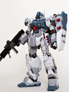 MG 1/100 RGM-96X Jesta - Painted Build Modeled by zzzang65