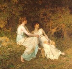 Birdsong....Sophie Gengembre Anderson