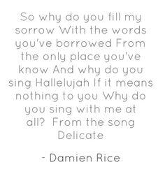 Damien jessaye darreter lyrics